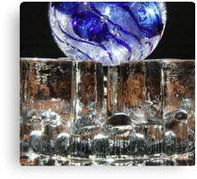Glass On Glass.. Canvas Print