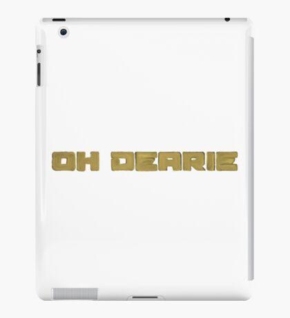Oh Dearie  iPad Case/Skin