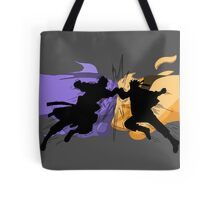 Naruto vs Sasuke Tote Bag