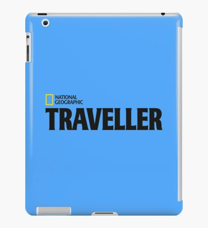 National Geographic - Traveller iPad Case/Skin