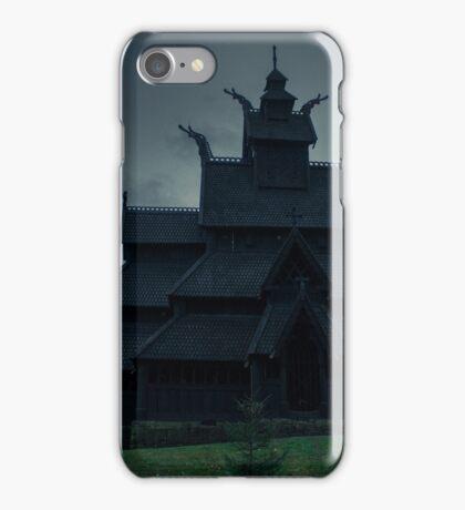 Gol Stavkirke iPhone Case/Skin