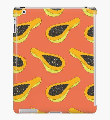 papaya pattern iPad Case/Skin