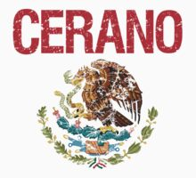 Cerano Surname Mexican Kids Clothes