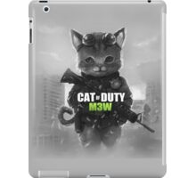 Cat of Duty iPad Case/Skin