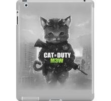 Cat of Duty iPad Case/Skin