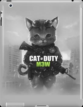 Cat of Duty by Manolya Jay