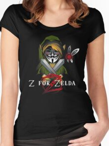 Z for Zelda Women's Fitted Scoop T-Shirt