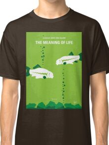 No226 My The Meaning of life minimal movie poster Classic T-Shirt
