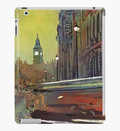 Big Ben watercolor painting- London, England iPad Case/Skin