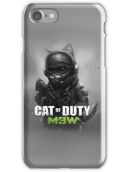 Cat of Duty 2 by Manolya Jay