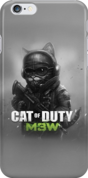 Cat of Duty 2 by MagnoliasDragon