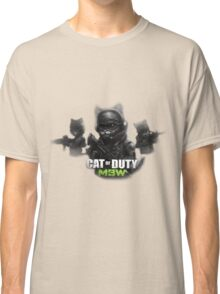 Cat of Duty 2 Classic T-Shirt