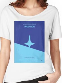 No240 My Inception minimal movie poster Women's Relaxed Fit T-Shirt