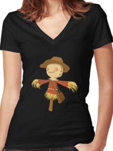Glitch Inhabitants npc gardening vendor Women's Fitted V-Neck T-Shirt