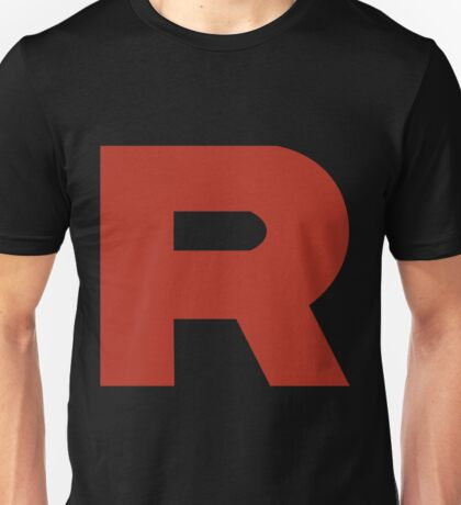 Team Rocket R Unisex T-Shirt