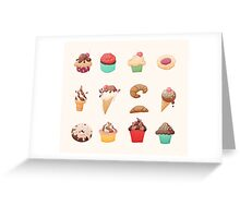 Desserts Greeting Card