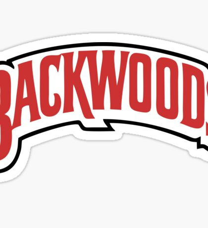Backwoods Premium Merchandise Sticker