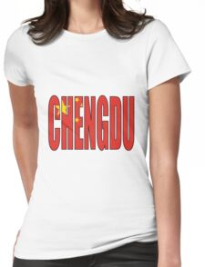 Chengdu Womens Fitted T-Shirt
