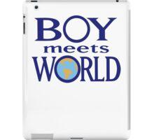 Boy meets world iPad Case/Skin