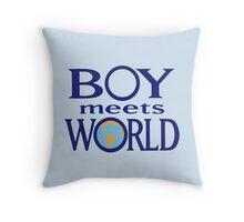 Boy meets world Throw Pillow