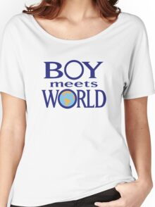 Boy meets world Women's Relaxed Fit T-Shirt