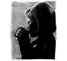 Coffee. Black. Photographic Print