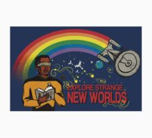 Reading Trek, Sticker  by Nocturnarwhal