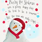 Mushy the slushman by twisteddoodles