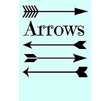Arrows Photographic Print