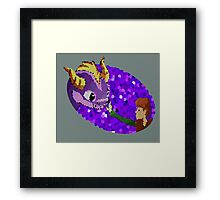 How to train your Spyro Framed Print