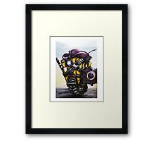 Claptap Cosplaying  Framed Print