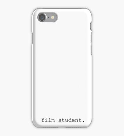 Film Student iPhone Case/Skin