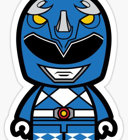 Blue Ranger Chibi Lego Sticker
