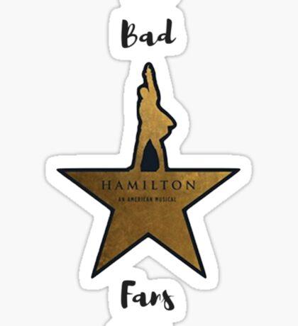 The Bad Ham Fans Club Sticker