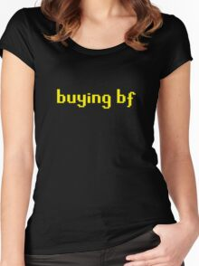 Buying BF Women's Fitted Scoop T-Shirt