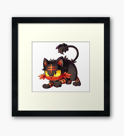 Litten Design Framed Print