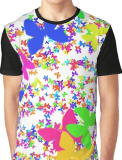 Colorful butterflies Graphic T-Shirt