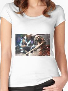 Final Fantasy Women's Fitted Scoop T-Shirt