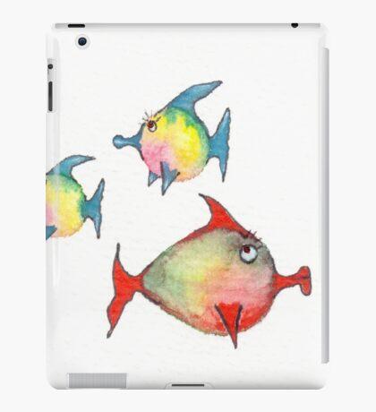 Dicke Fische iPad Case/Skin