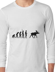 Evolution Moose=  Long Sleeve T-Shirt