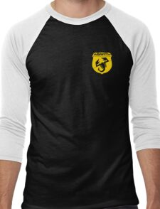 Abarth logo amarillo Men's Baseball ¾ T-Shirt