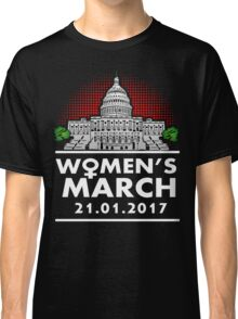 Women March On Washington Classic T-Shirt