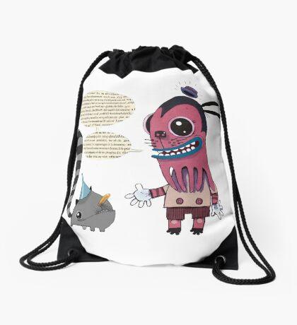 Lecture Drawstring Bag