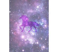 Universe Unicorn Photographic Print