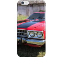 1973 Plymouth Roadrunner iPhone Case/Skin