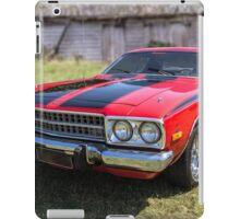 1973 Plymouth Roadrunner iPad Case/Skin