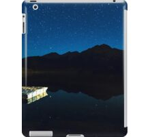 Starry Starry Night Over Pyramid Lake and Pyramid Mountain iPad Case/Skin