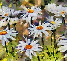Daisies - painted by PhotosByHealy