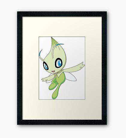 Celebi Framed Print