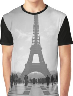 View of Eiffel Tower from Trocadero Graphic T-Shirt